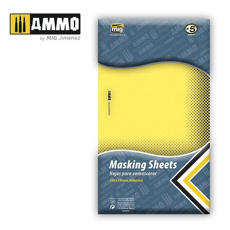 【新製品】A.MIG-8043 マスキングシートセット
