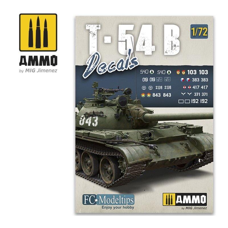 【新製品】A.MIG-8062 T-54B用デカール