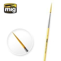 【新製品】A.MIG-8591 ミグ ライナーブラシ 1 (ナイロン毛)