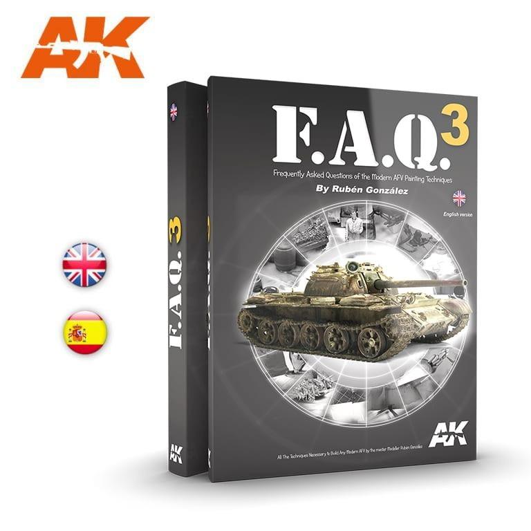 【新製品】AK288 FAQ3 現用AFVモデリング