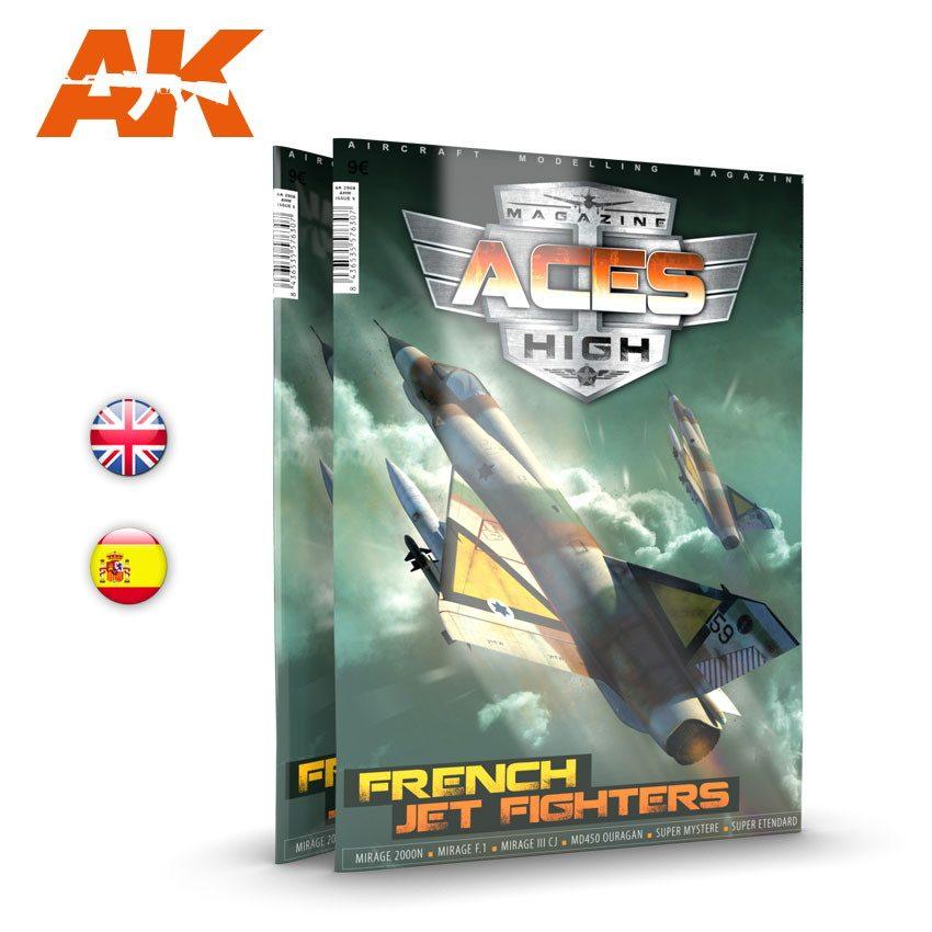 【新製品】AK2931 エーセズハイ第15号 フランスジェット戦闘機
