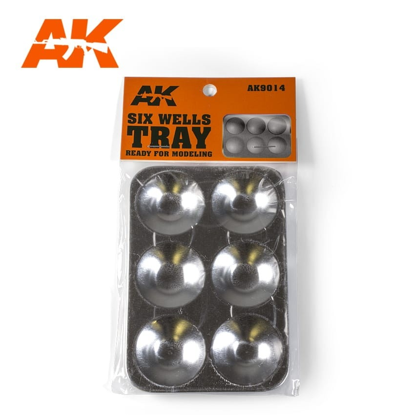 【新製品】AK9014 アルミニウム角形パレット(6マス)