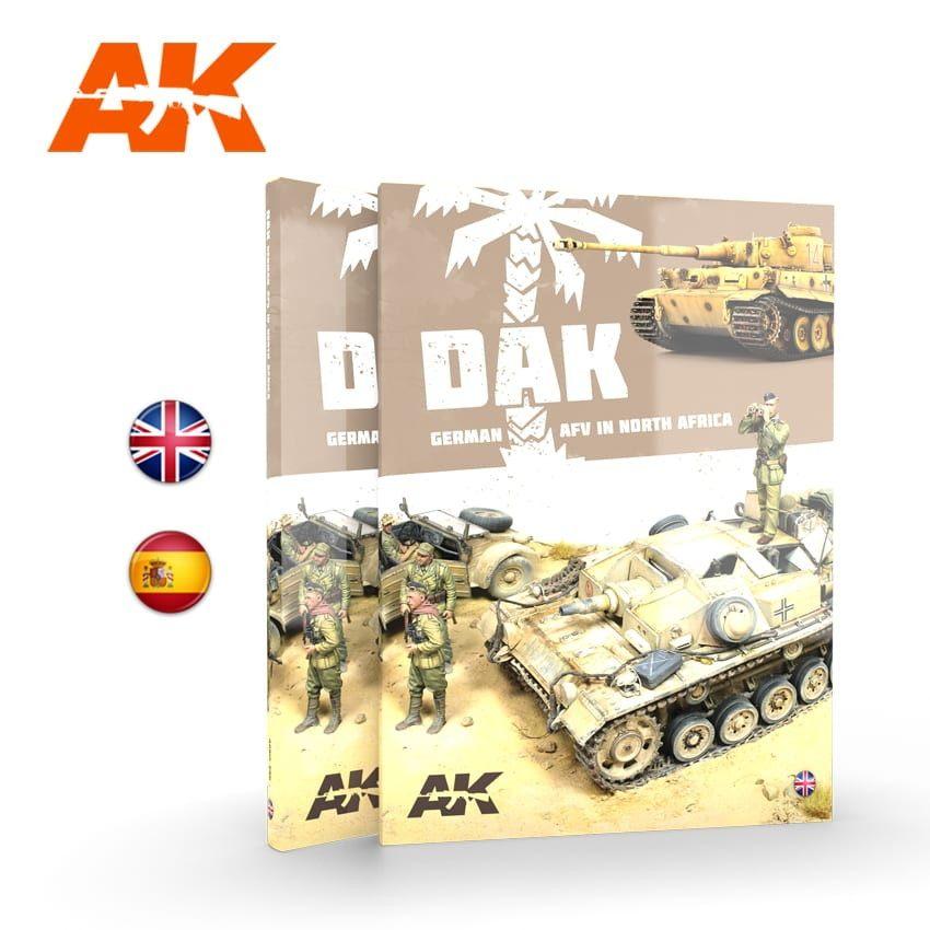 【新製品】AK912 DAK 北アフリカのドイツ軍装甲戦闘車輌