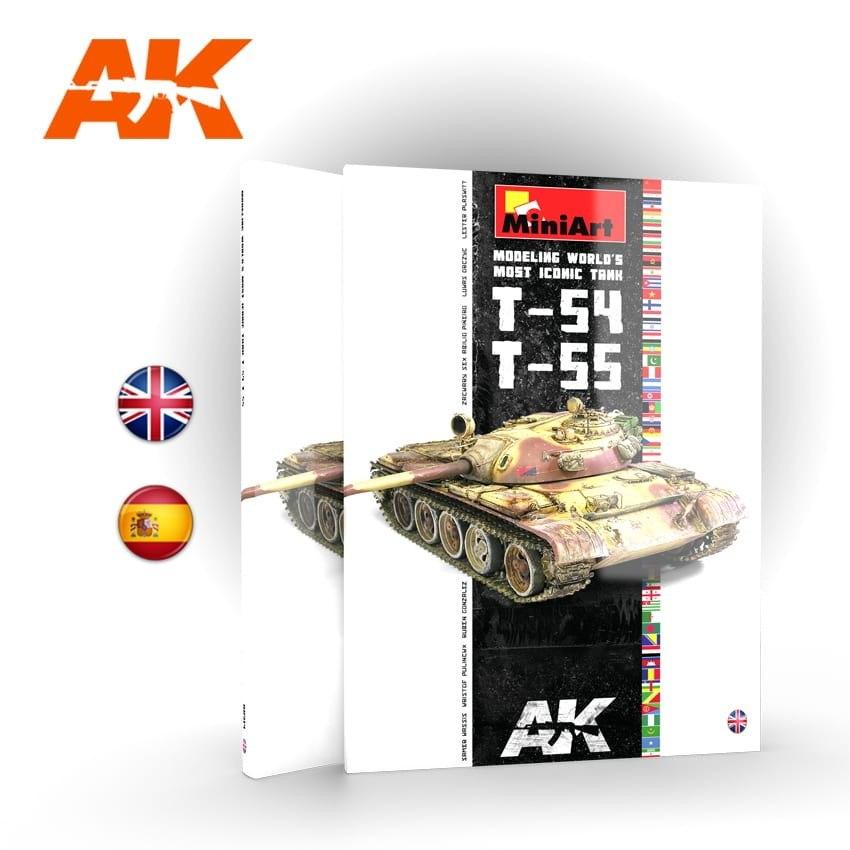 【新製品】AK914 T-54/T-55戦車モデリング