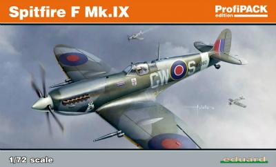 【新製品】70122)スーパーマリン スピットファイア F Mk.IX プロフィパック
