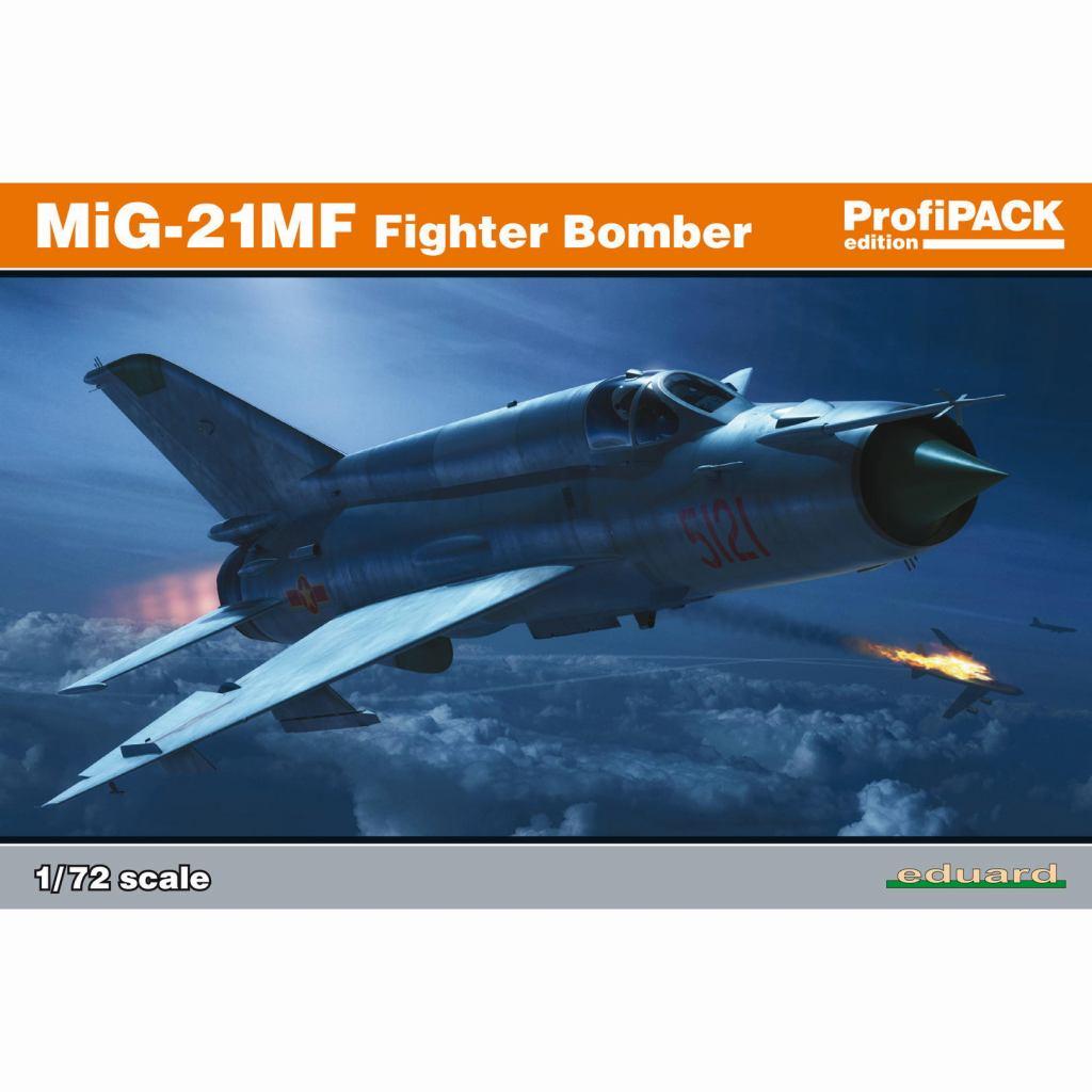 【新製品】70142 MiG-21MF フィッシュベッド 戦闘爆撃機 プロフィパック