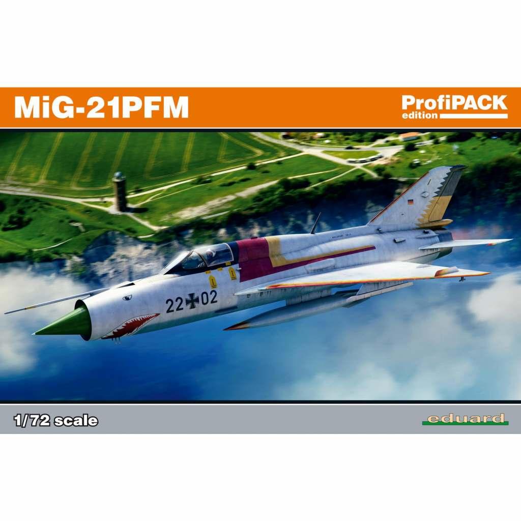 【新製品】70144 ミグ MiG-21PFM フィッシュベッド プロフィパック