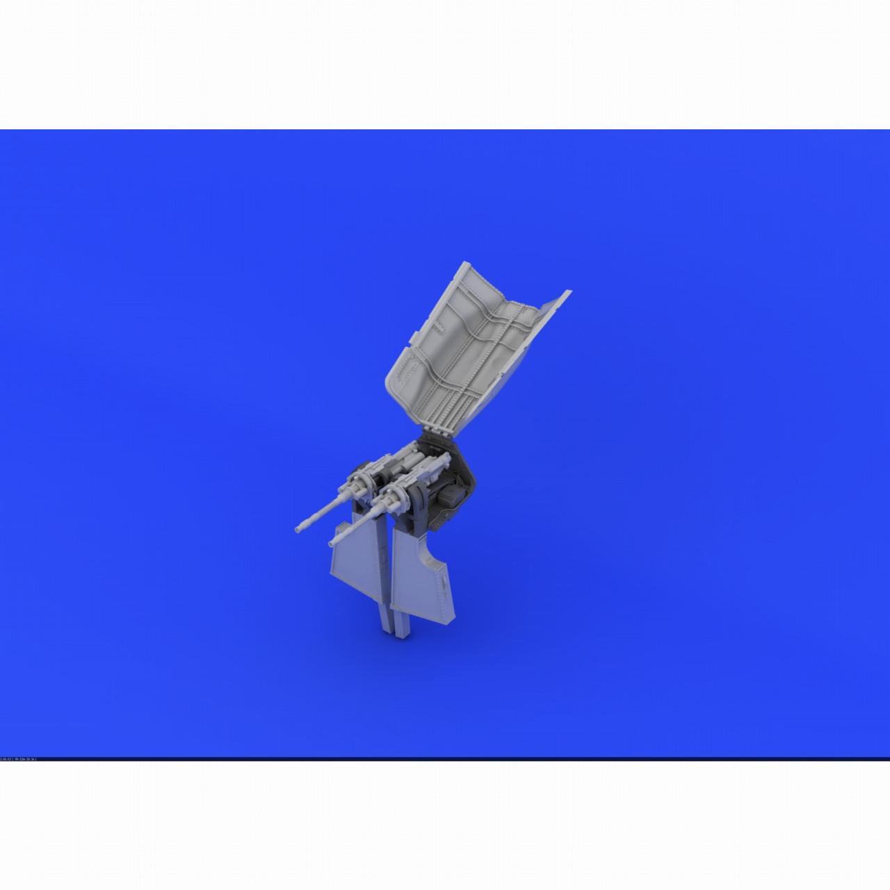 【新製品】ブラッシン632122 フォッケウルフ Fw190A-8 胴体内MG131機銃マウント