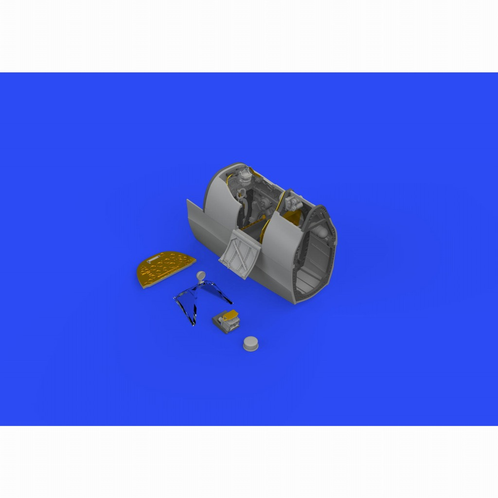 【新製品】ブラッシン632131 スーパーマリン スピットファイア Mk.IX コクピットセット (タミヤ用)