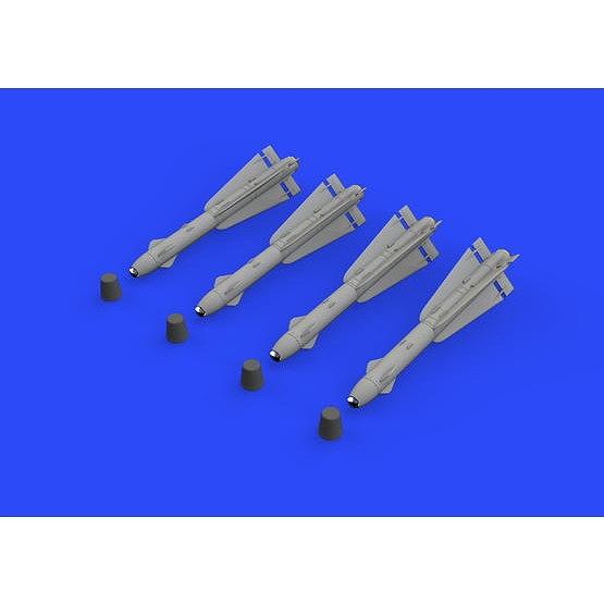 【新製品】ブラッシン632134 AIM-4D ファルコン 空対空ミサイル (4個入り)