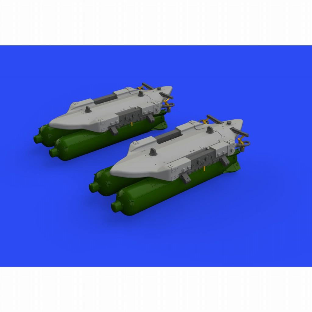 【新製品】ブラッシン632140 BRU-57A 爆弾架 (2個入り)