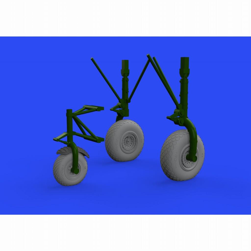 【新製品】ブラッシン632145 コンソリデーテッド B-24 リベレーター ホイール (8スポーク型前輪)(ホビーボス用)