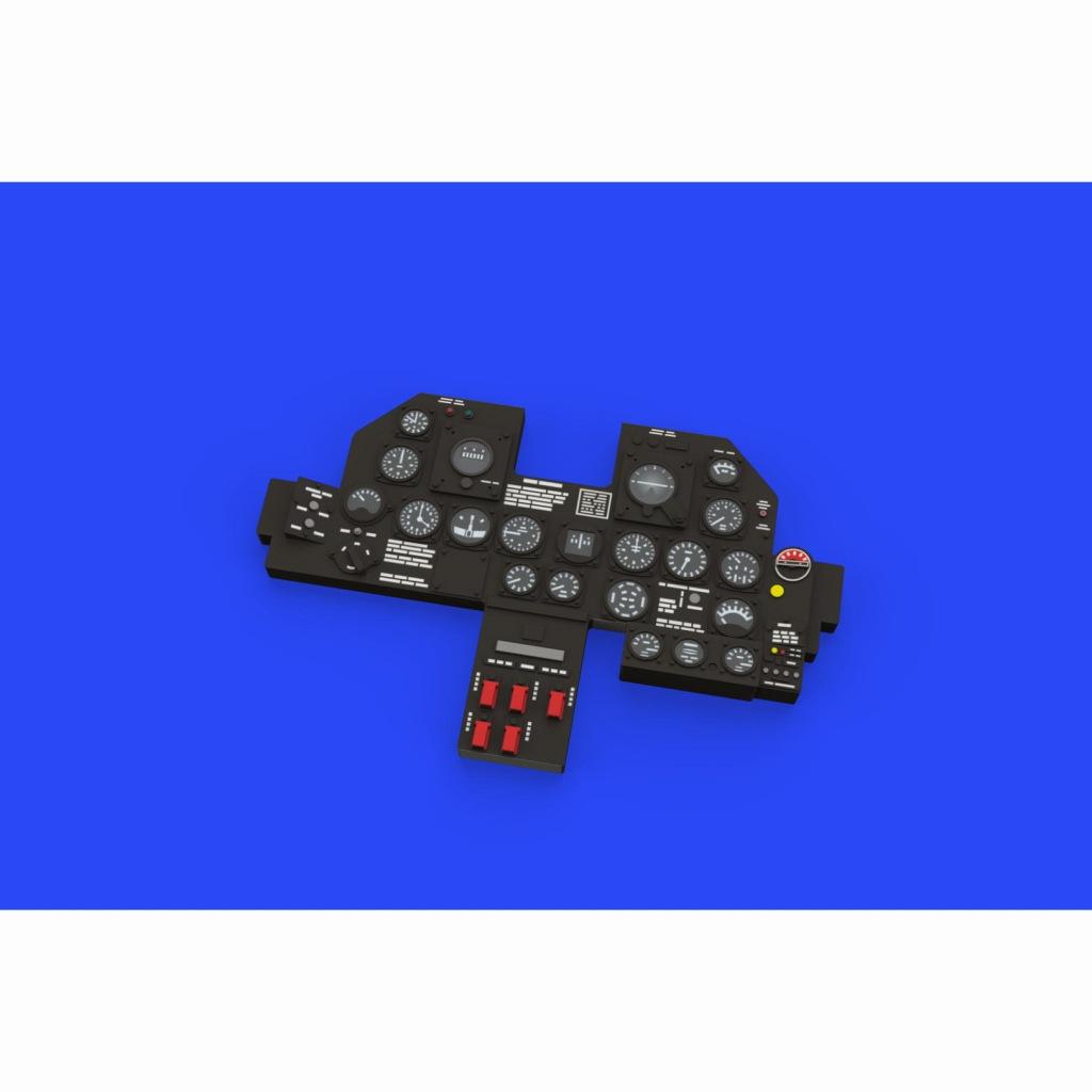 【新製品】ルック634010 P-47D 計器盤