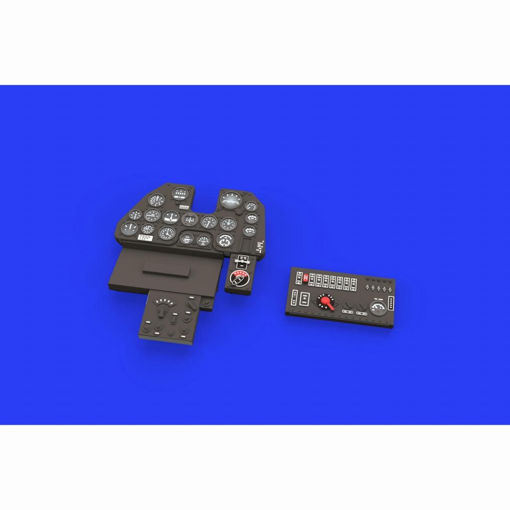 【新製品】ルック634011 P-40N 計器盤