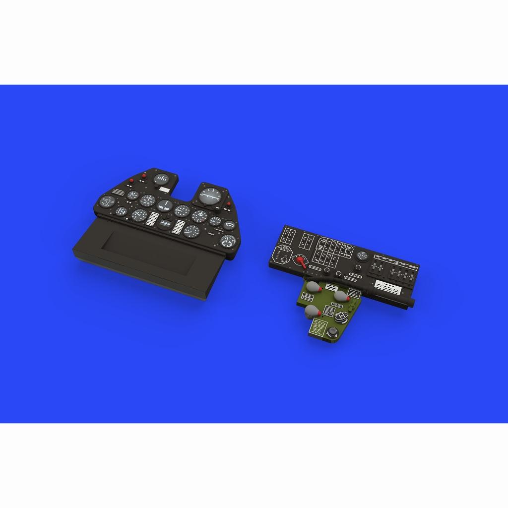 【新製品】ルック634013 カーチス P-40E 計器盤