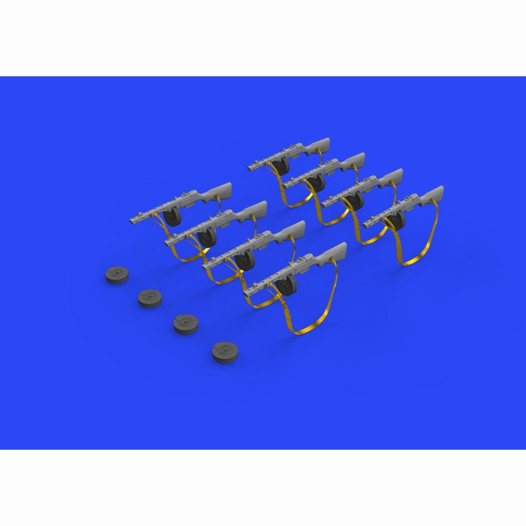 【新製品】ブラッシン635011 PPSh-41 短機関銃 WW.Ⅱソ連軍 (8個入り)