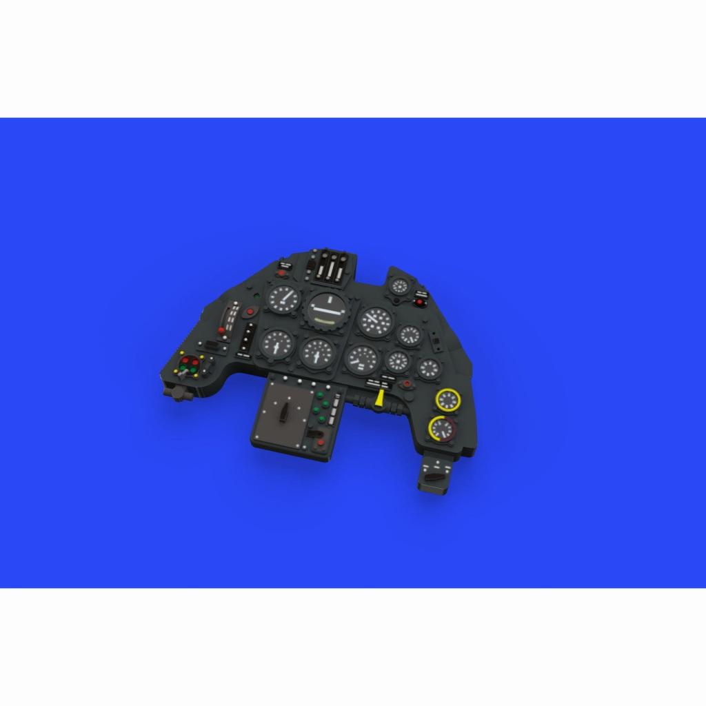 【新製品】ルック644001 メッサーシュミット Bf109G-6 計器盤