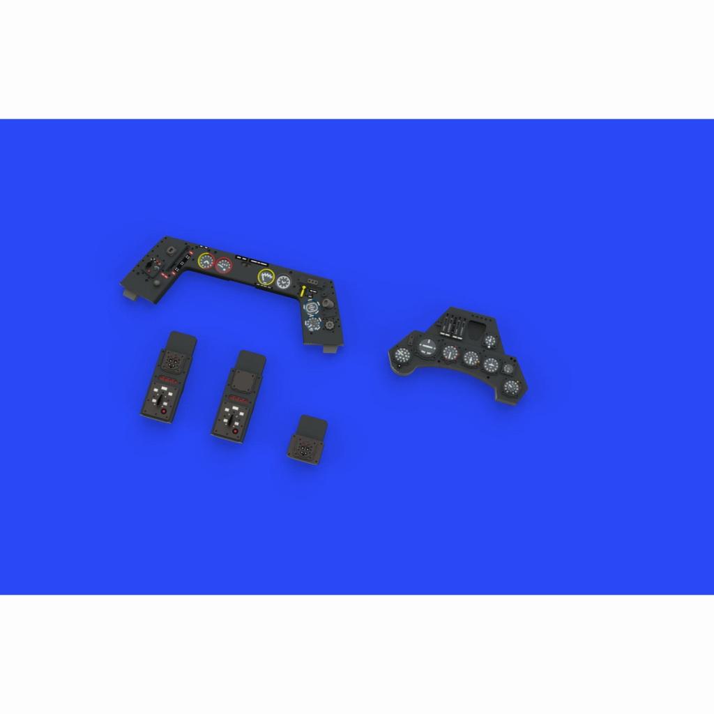 【新製品】ルック644002 フォッケウルフ Fw190A-5 計器盤