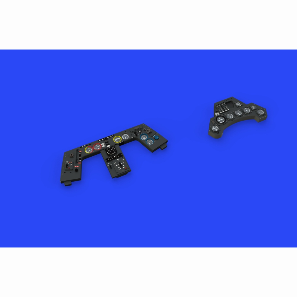 【新製品】ルック644015 フォッケウルフ Fw190A-8 計器盤