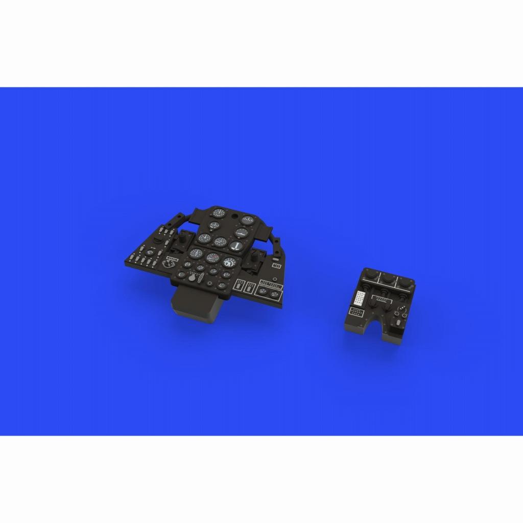 【新製品】ルック644025 ベル P-400 エアラコブラ 計器盤 (エデュアルド用)