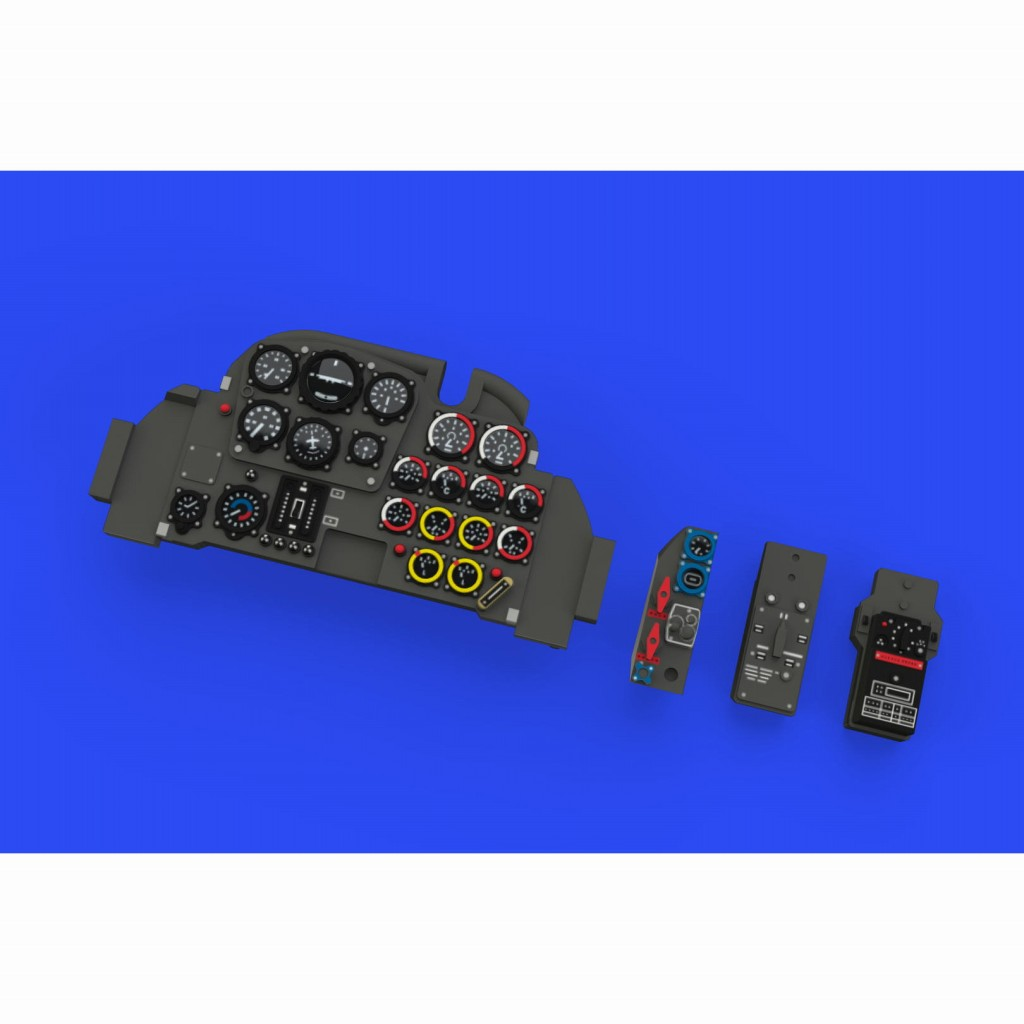 【新製品】ルック644041 メッサーシュミット Me262A シュワルベ 「ルック」計器盤 (タミヤ用)