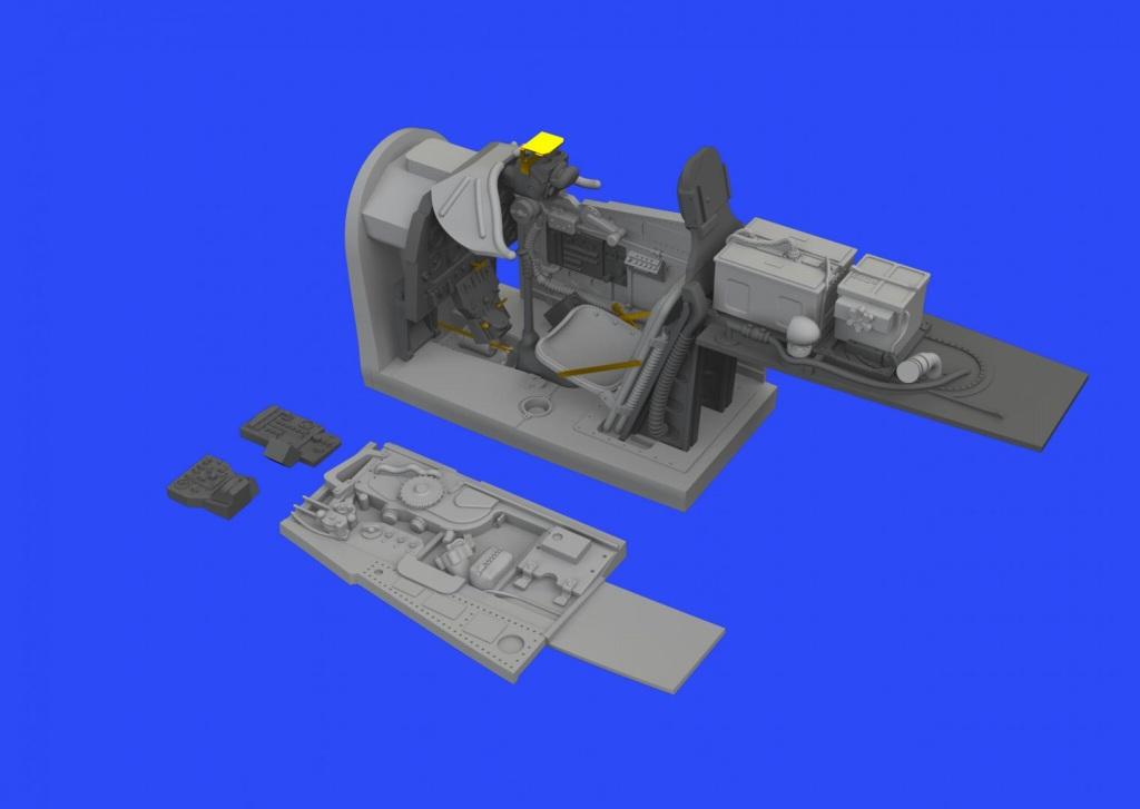 【再入荷】ブラッシン648346 ノースアメリカン P-51D マスタング コクピットセット