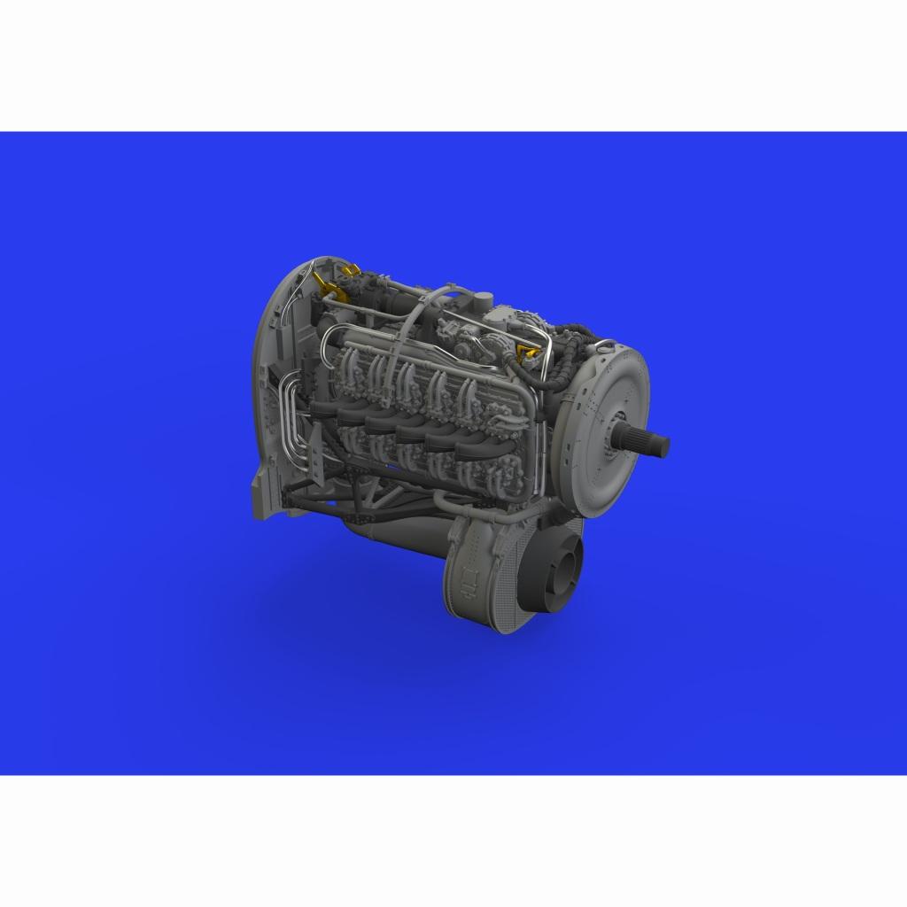 【新製品】ブラッシン648417 ホーカー テンペスト Mk.V エンジン (エデュアルド用)
