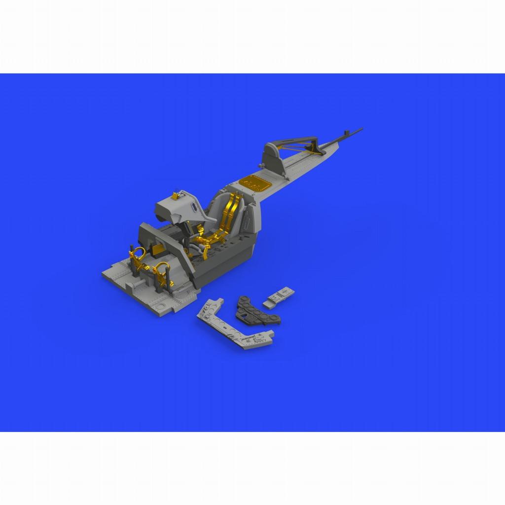 【新製品】ブラッシン648426 フォッケウルフ Fw190A-8/R2 コクピット