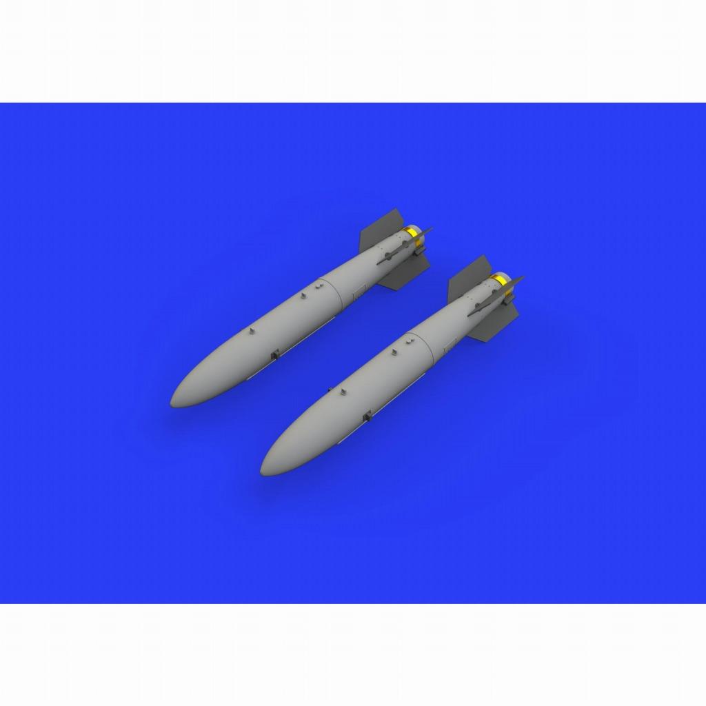 【新製品】ブラッシン648447 米軍 B43-0 核爆弾w/SC-43-4/-7 テールアセンブリ(爆弾後部) (2個入り)