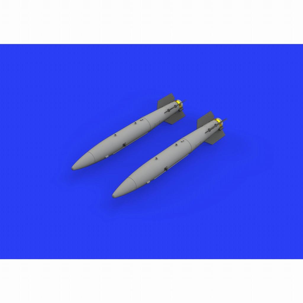 【新製品】ブラッシン648448 米軍 B43-1 核爆弾w/SC-43-4/-7 テールアセンブリ(爆弾後部) (2個入り)