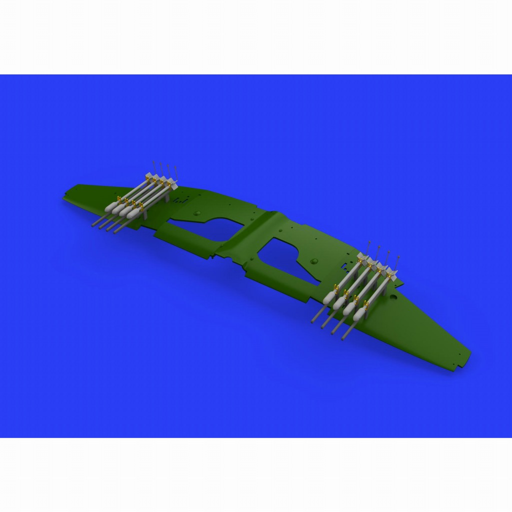 【新製品】ブラッシン648450 テンペストMk.V用RP3 60ポンド 航空ロケット弾 (8個入り)