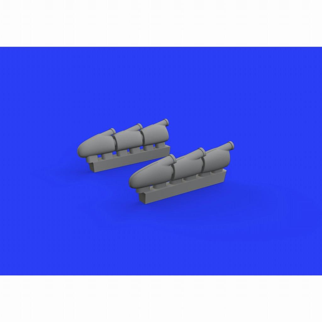 【新製品】ブラッシン648456 スピットファイアMk.I 排気管