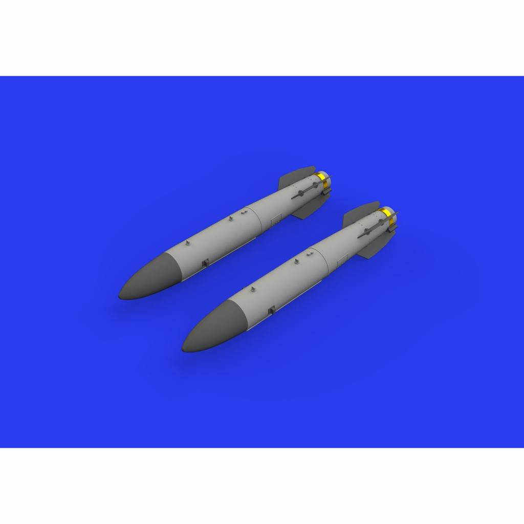 【新製品】ブラッシン648459 米軍 B43-0核爆弾w/ SC43-3/-6 テールアセンブリ(爆弾後部) (2個入り)