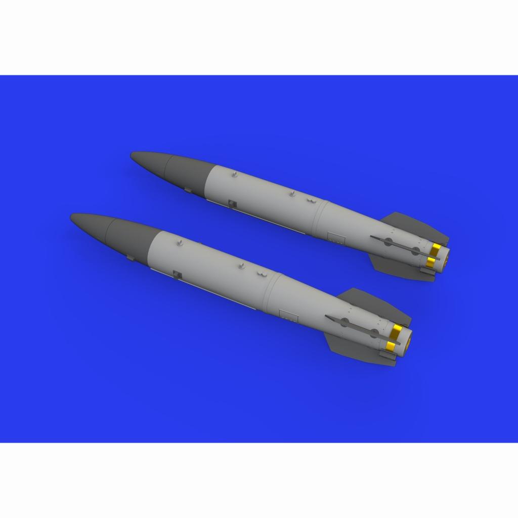 【新製品】ブラッシン648460 米軍 B43-1核爆弾w/ SC43-3/-6 テールアセンブリ(爆弾後部) (2個入り)