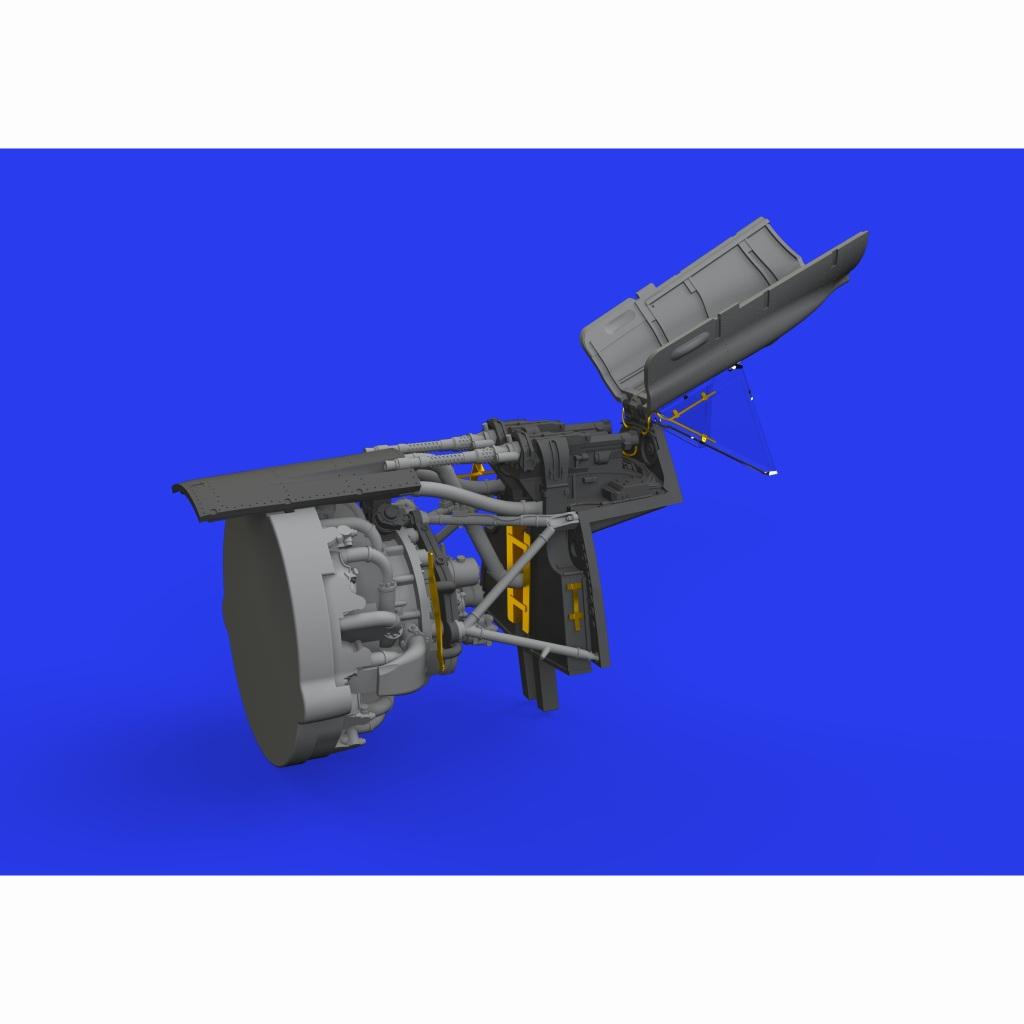 【新製品】ブラッシン648462 フォッケウルフ Fw190A-8 胴体内機銃 (エデュアルド用)