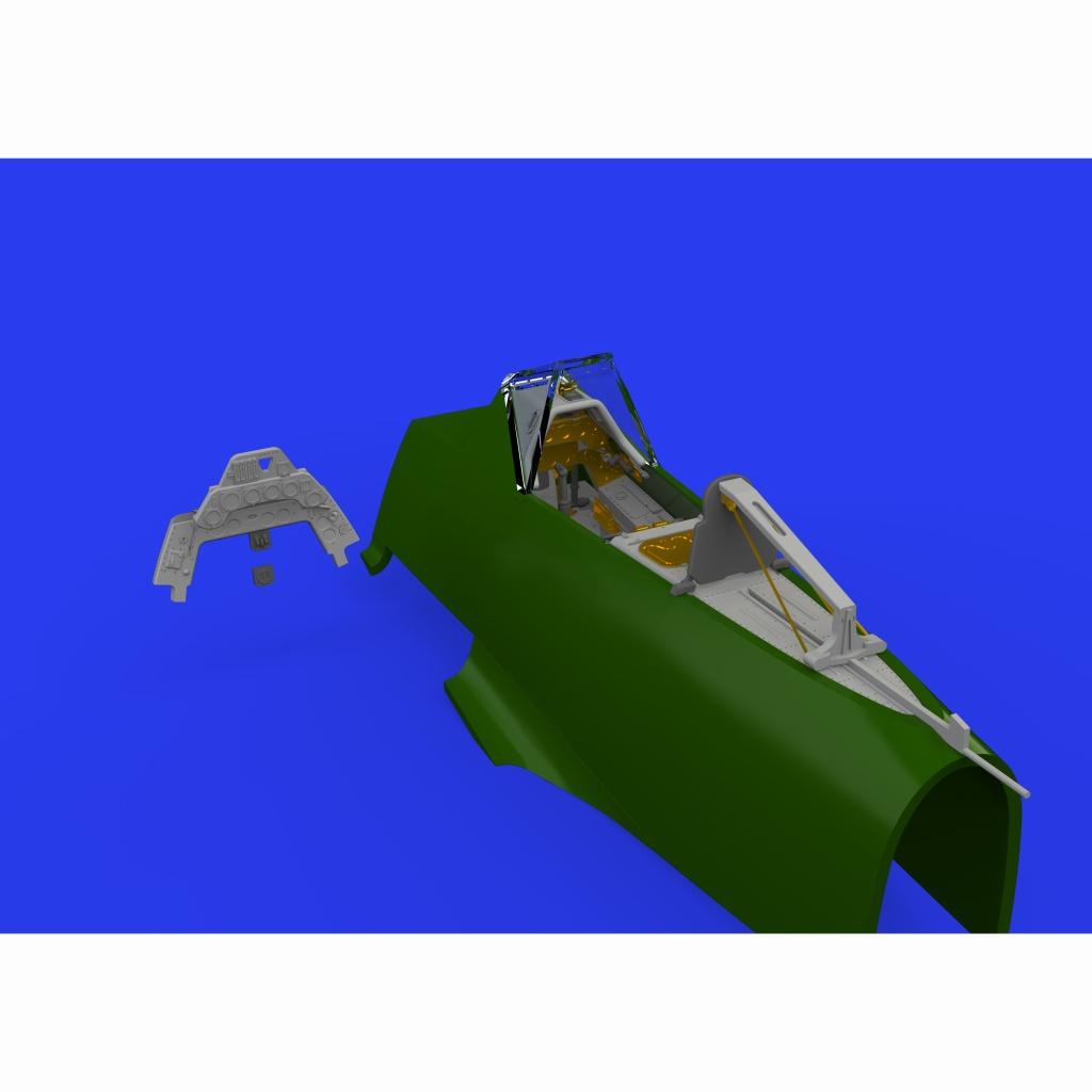 【新製品】ブラッシン648463 フォッケウルフ Fw190A-8 コックピットセット (エデュアルド用)