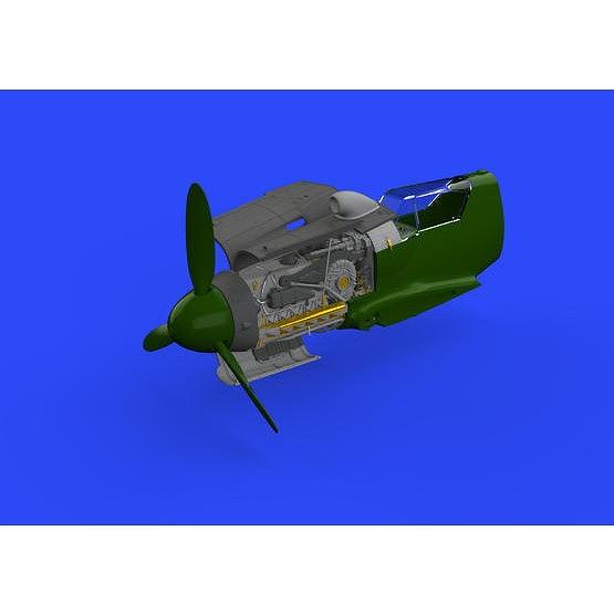 【新製品】ブラッシン648465 メッサーシュミット Bf109G-10/U4 エンジン (エデュアルド用)