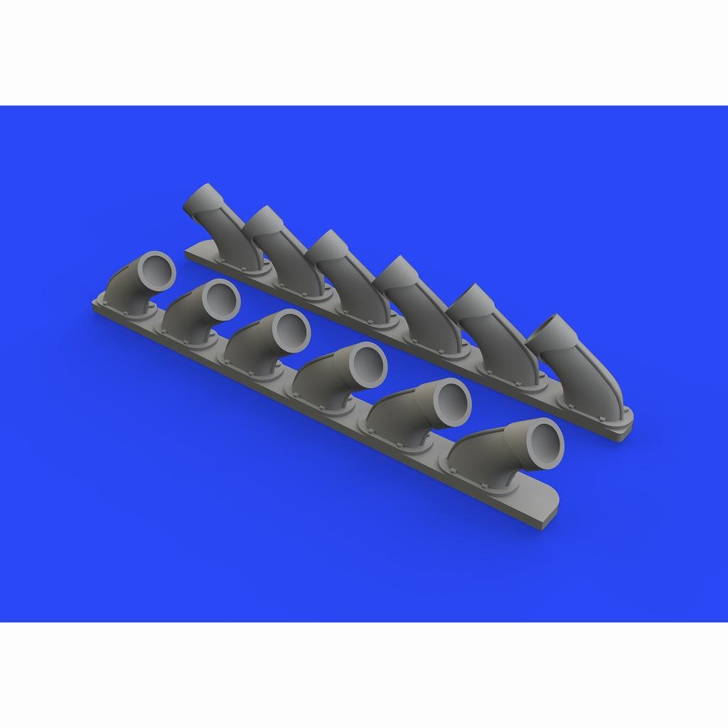 【新製品】ブラッシン648670 スーパーマリン スピットファイア Mk.XIV 排気管
