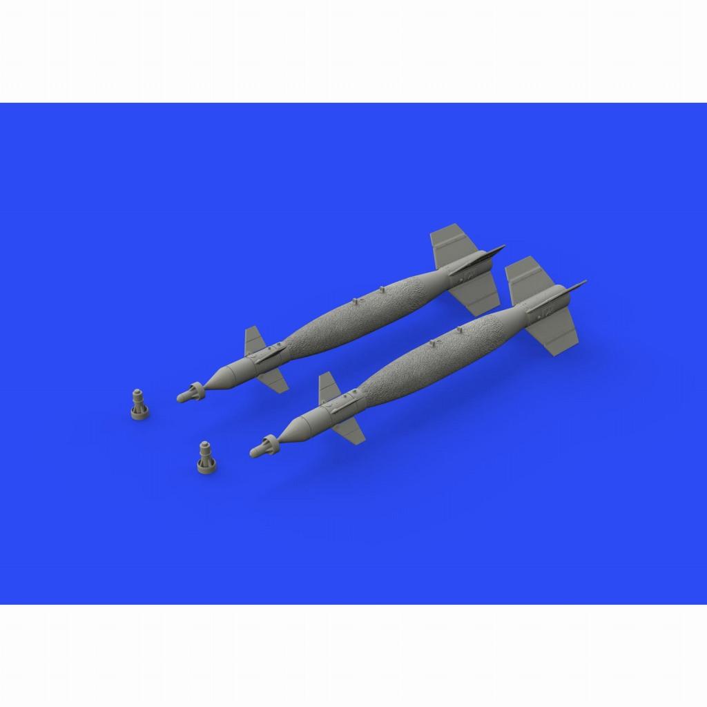 【新製品】ブラッシン648480 ぺイブウェイI Mk.83 レーザー誘導爆弾 (海軍型)(2個入り)