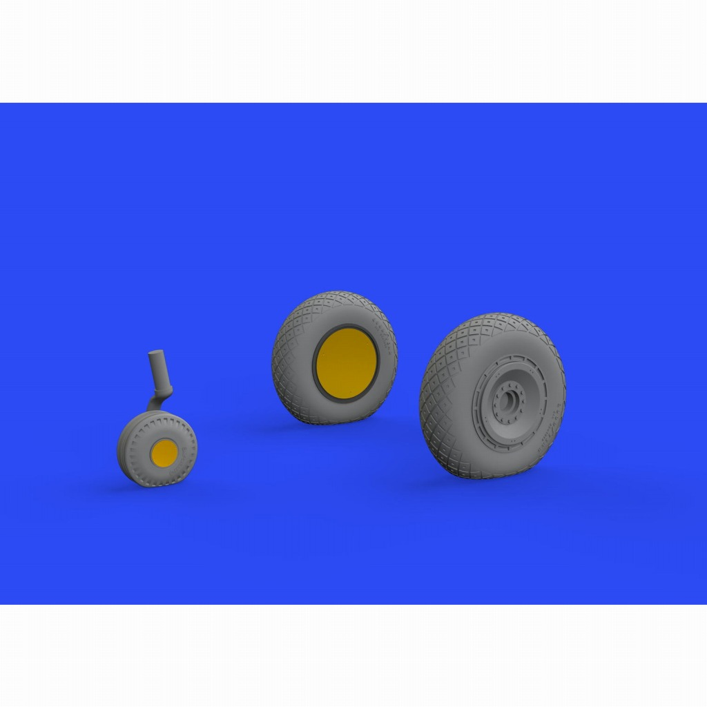 【新製品】ブラッシン648484 リパブリック P-47D サンダーボルト ホイール (タミヤ用)