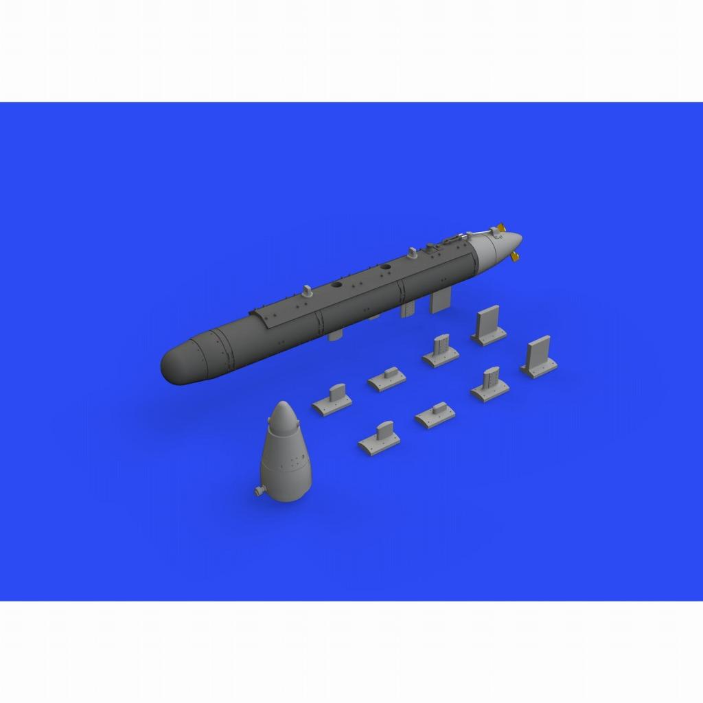 【新製品】ブラッシン648492 AN/ALQ-71(V)-3 ECMポッド (1個入り)