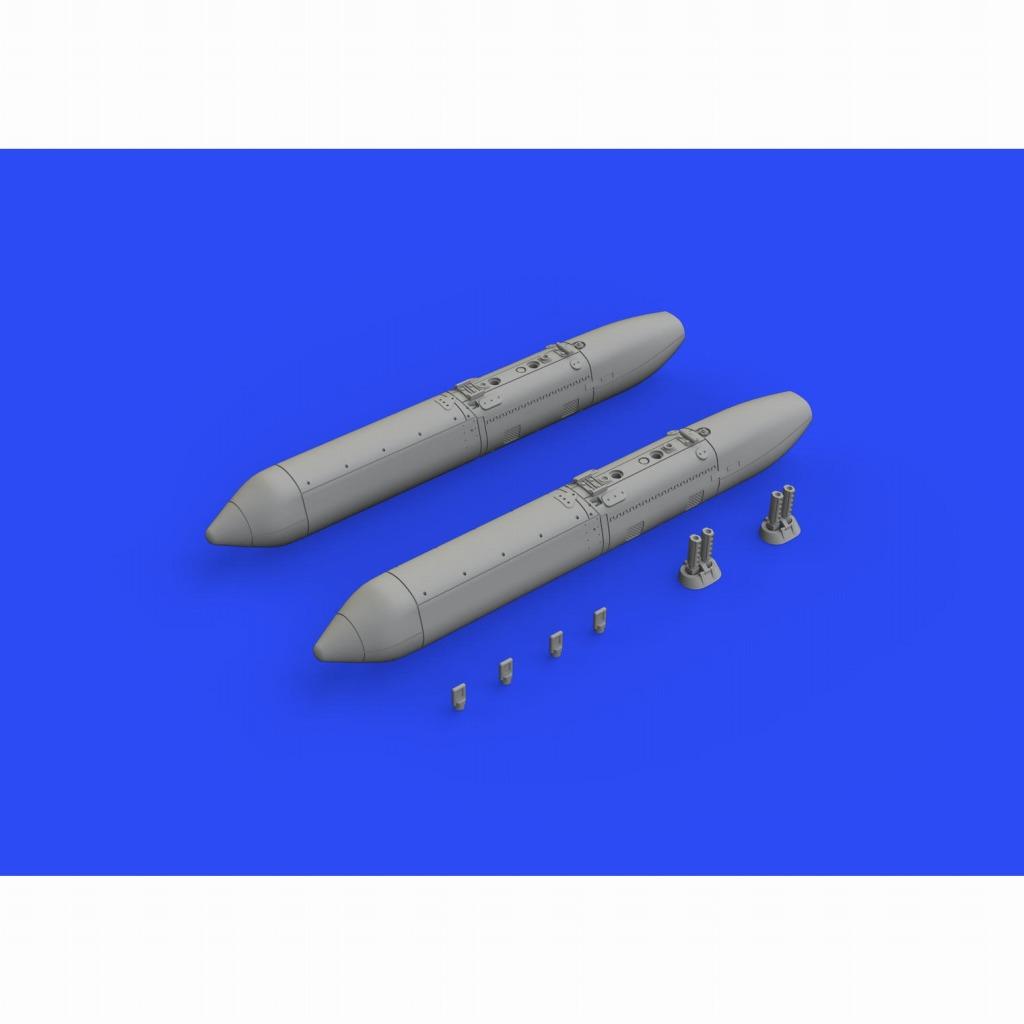 【新製品】ブラッシン648497 ソ連・ロシア UPK-23-250 23mmガンポッド (2個入り)