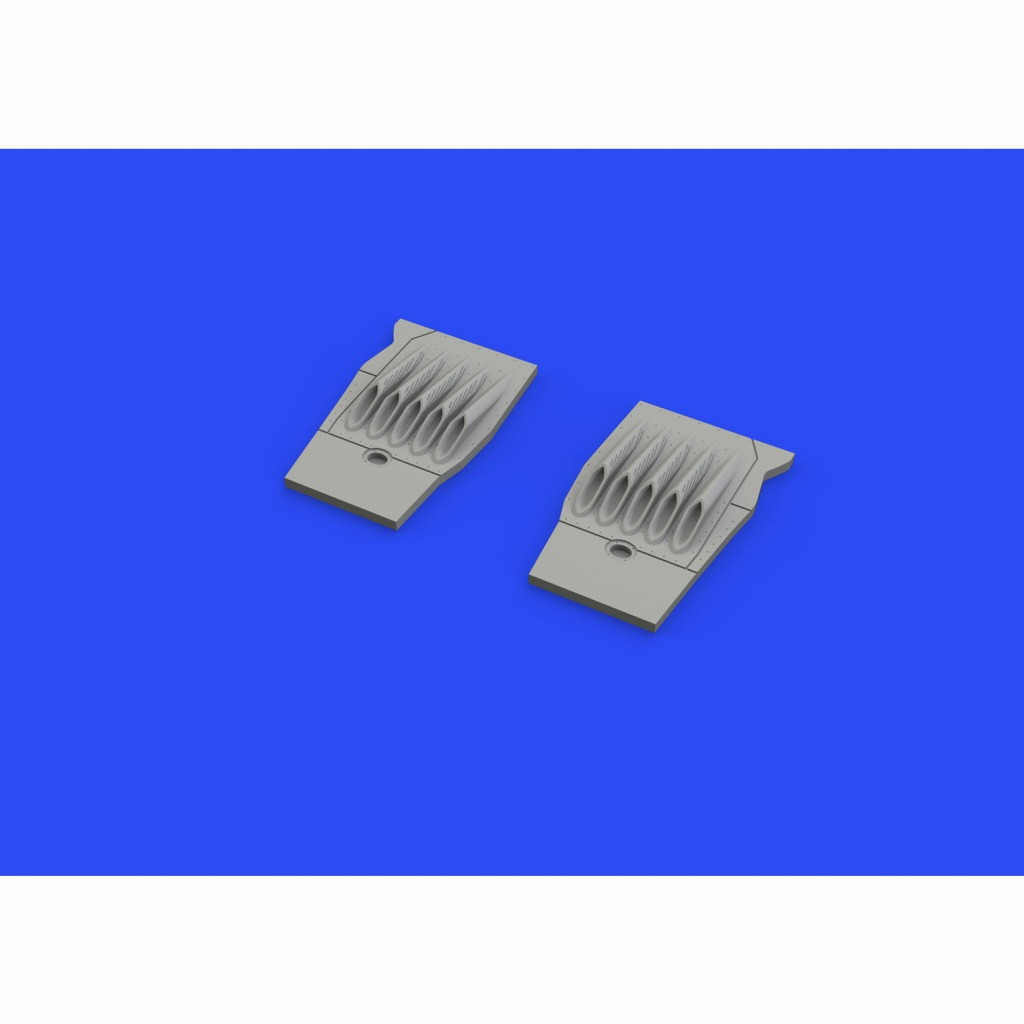 【新製品】ブラッシン648498 マクドネル・ダグラス F/A-18E スーパーホーネットECS排気管 (後期型) (ハセガワ用)