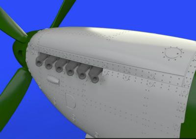 【新製品】ブラッシン672126)スーパーマリン スピットファイア Mk.IX エンジン