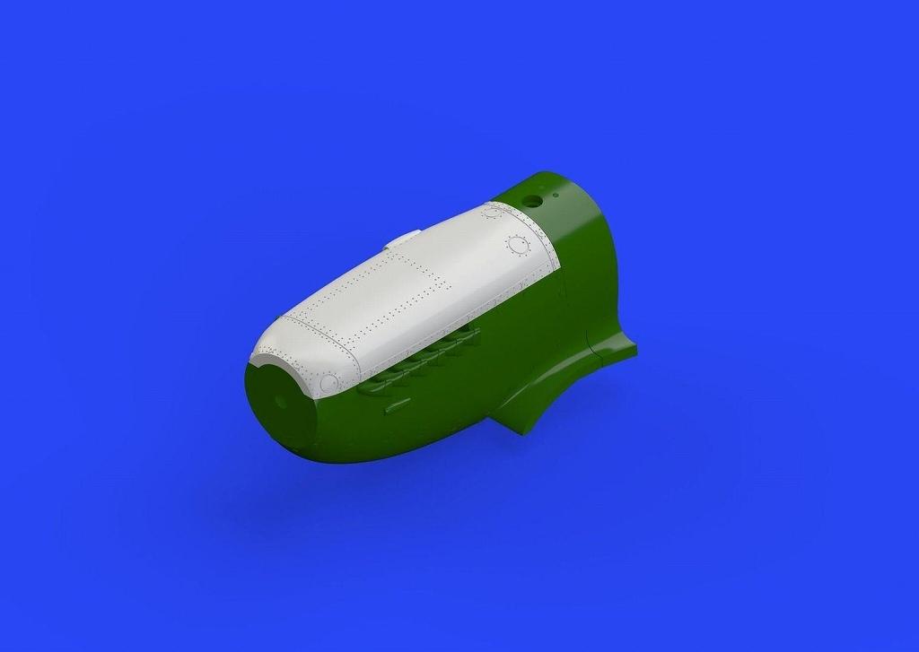 【再入荷】ブラッシン672155 スーパーマリン スピットファイア Mk.VIII アッパーカウリング