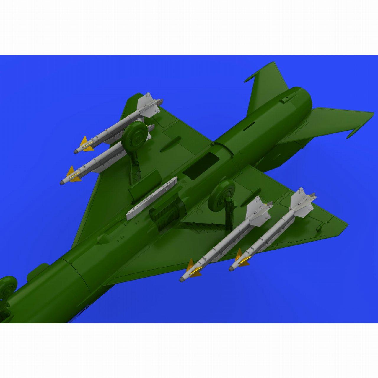 【新製品】ブラッシン672188 R-13M 「アトール」 空対空ミサイル w/MiG-21 パイロン