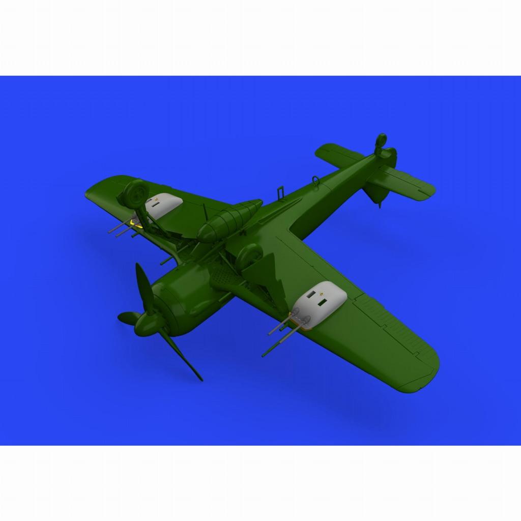 【新製品】ブラッシン672196 フォッケウルフ Fw190A-5/U12 20mm機砲ゴンドラ