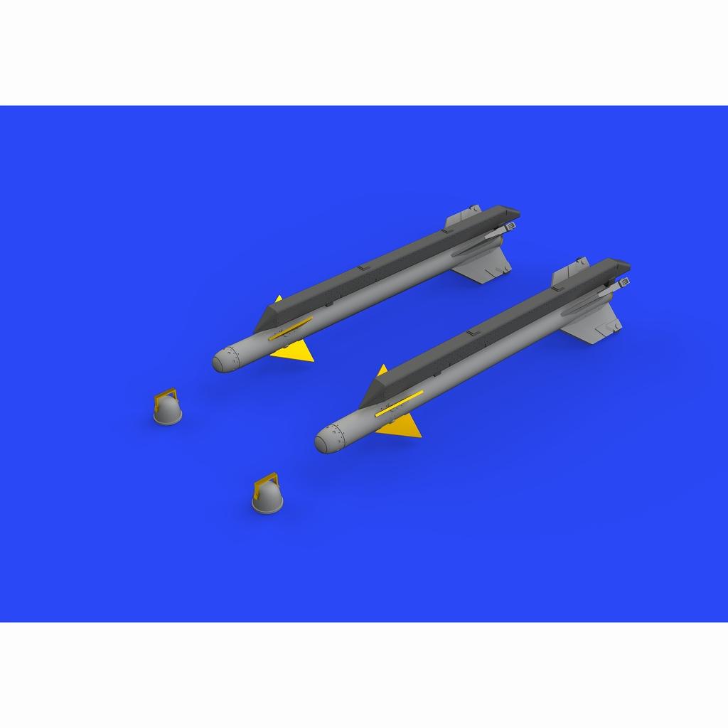 【新製品】ブラッシン672217 シャフリル2 空対空ミサイル (2個入り)