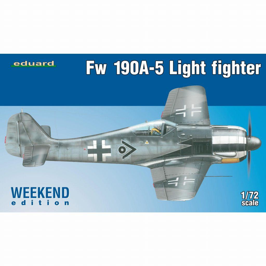 【新製品】7439)フォッケウルフ Fw190A-5 軽武装型 ウィークエンドエディション