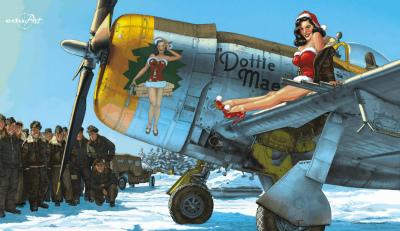 【新製品】11103)リパブリック P-47D サンダーボルト 「ドッティ・メイ」